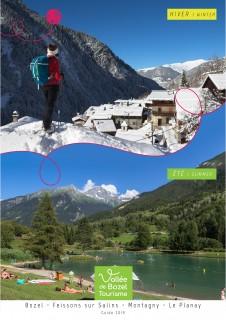 Guide Vallée de Bozel Tourisme 2020