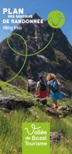 Plan des sentiers Vallée de Bozel Tourisme