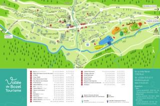 Plan Vallée de Bozel Tourisme