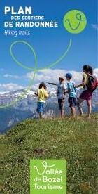 Plan sentiers Vallée de Bozel 2019