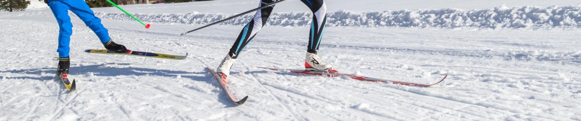 Nordic skiing in Bozel