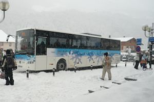 Free shuttle to Courchevel