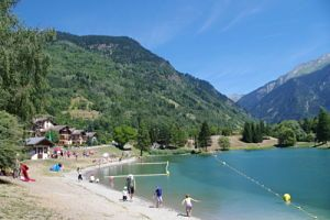 Lake of Bozel / Swimming pool