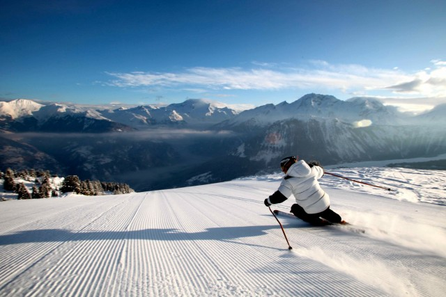 Ski area of Courchevel