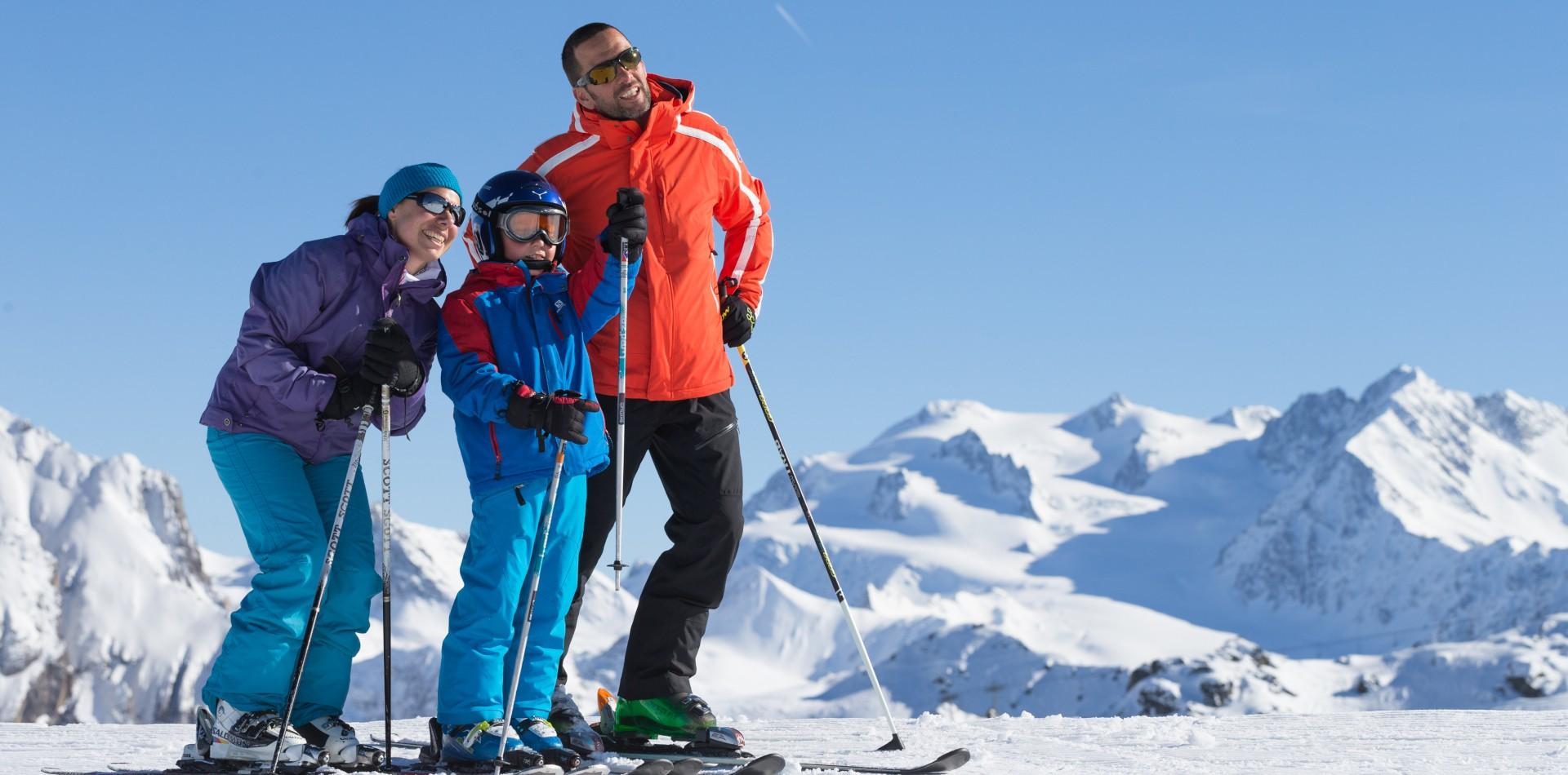 A proximité des grands domaines skiables