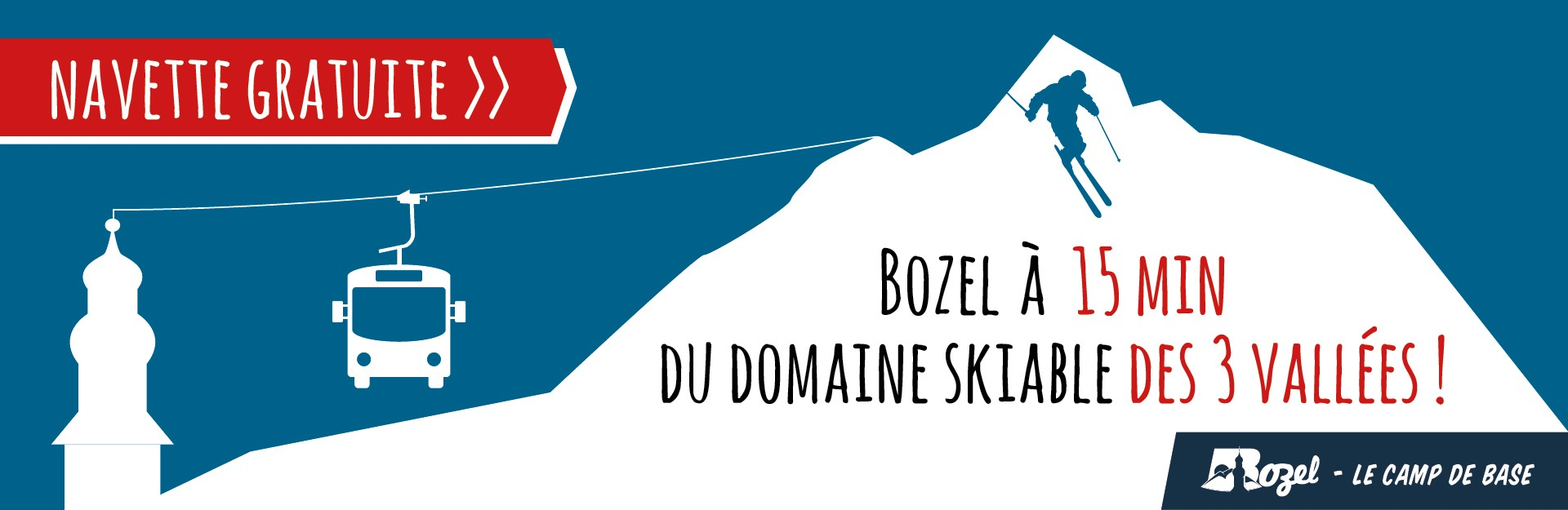Navette gratuite Bozel Courchevel