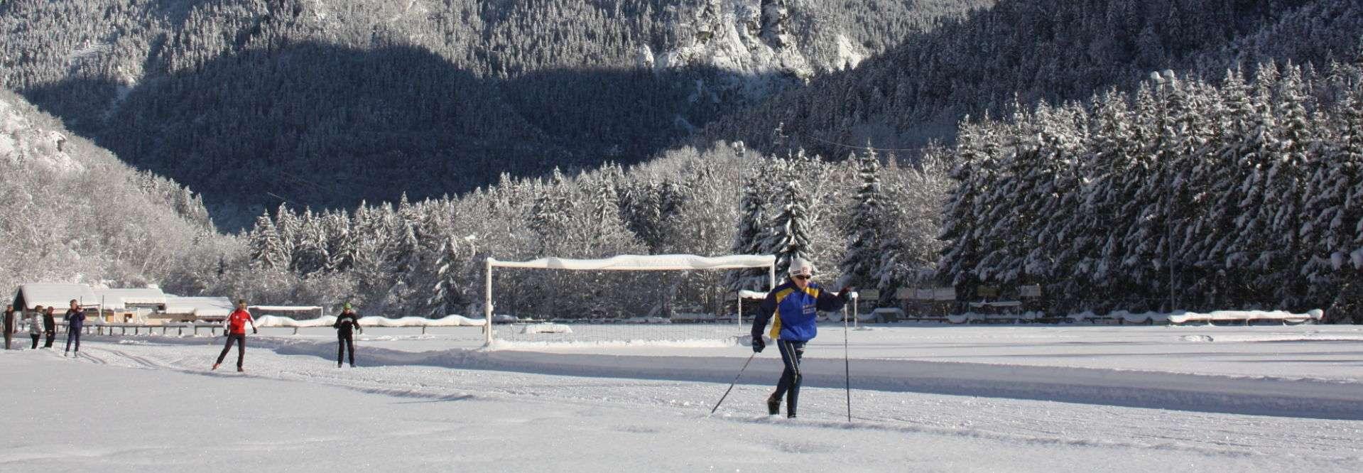 Nordic skiing of Bozel