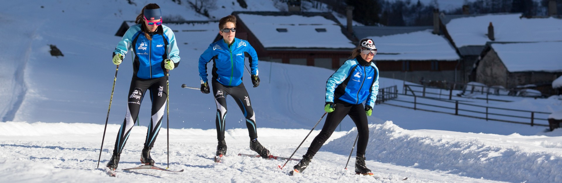 ski-de-fond Bozel