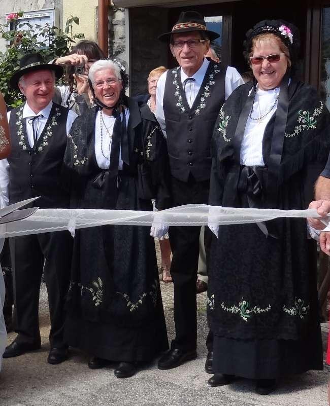 Costume traditionnel de Bozel