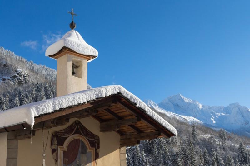 chapelle-de-la-presentation-au-temple-Les Mollinets - Bozel - Hiver