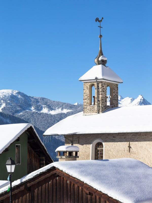 Eglise St Jacques - Villemartin - Bozel - Hiver