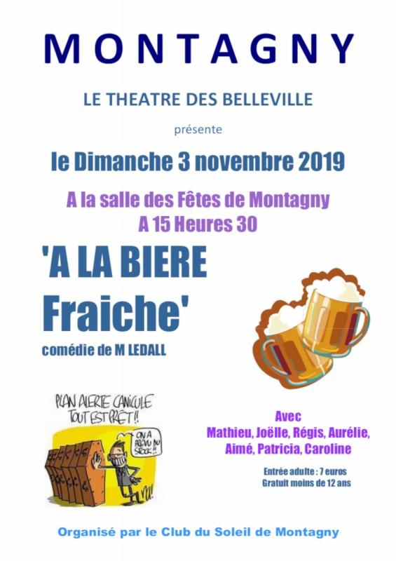 Pièce de théâtre - Montagny